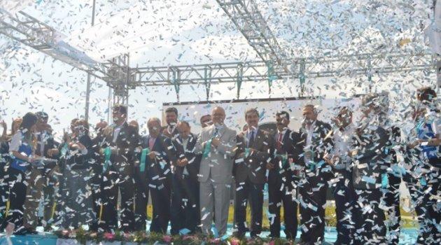 46 milyonluk dev yatırım törenle açıldı