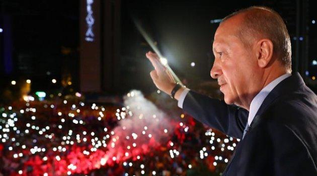 """""""BU SEÇİMİN GALİBİ DEMOKRASİ VE MİLLÎ İRADEDİR"""""""