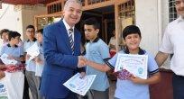 turan.dan başarılı öğrencilere sertifika