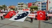 Turgutlu`da 29 ekim coşkuyla kutlandı