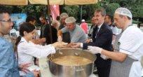 Başkan Şirin'in Aşure İkramı Ağızları Tatlandırdı
