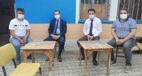 YILMAZ Aşağı bozkır Mahallesini Ziyaret etti