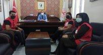 Genç Kızılay'dan Kaymakam YILMAZ'a Ziyaret