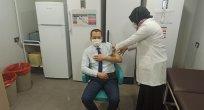Kaymakam Ali YILMAZ Covid-19 Aşısının 2. Dozunu Yaptırdı