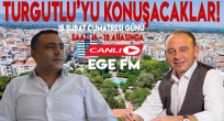 Radyo Proğramında Turgutlu'yu Konuşacaklar