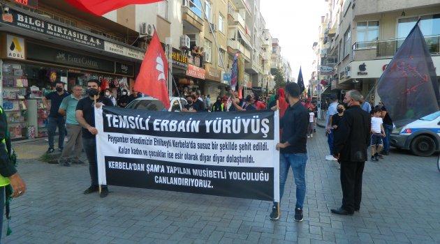 """Turgutlu`dan Kerbela'ya  """"ERBAİN"""" yürüyüşü"""